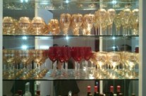 Glass Shelving & Mirror
